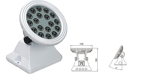 የሻንሻን መሪ መሪ ፋብሪካ,LED flood floodlights,25W 48W ካሬ LED ግድግዳ ማጠቢያ 1, LWW-6-18P, ካራንተር ዓለም አቀፍ ኃ.የተ.የግ.ማ.