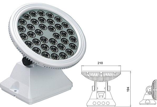 Led drita dmx,të udhëhequr nga prozhektor,25W 48W Sheshi me rondele mur LED 2, LWW-6-36P, KARNAR INTERNATIONAL GROUP LTD