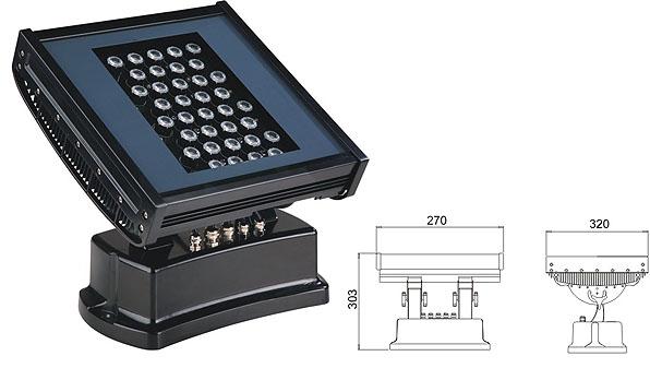Led drita dmx,të udhëhequr gjirin e lartë,108W 216W përmbytje LED lisht 1, LWW-7-36P, KARNAR INTERNATIONAL GROUP LTD