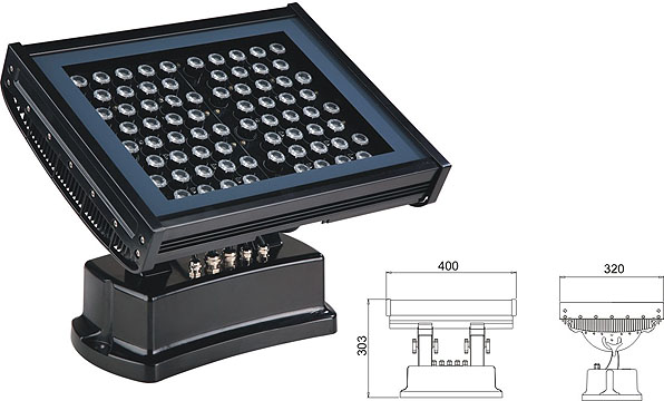 ጓንግዶንግ መሪ የሚንቀሳቀስ ፋብሪካ,የመነሻ ዋሻ ብርሃን,108W 216 ዋ ካሬ LED ጎርፍ 2, LWW-7-72P, ካራንተር ዓለም አቀፍ ኃ.የተ.የግ.ማ.