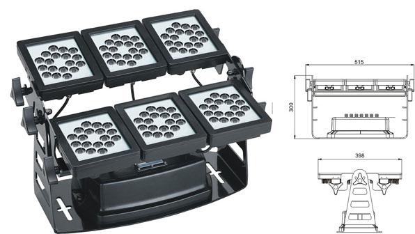 ጓንግዶንግ መሪ የሚንቀሳቀስ ፋብሪካ,መሪን ከፍ ያለ ጀልባ,220W ካሬ LED ግድግዳ ማጠቢያ 1, LWW-9-108P, ካራንተር ዓለም አቀፍ ኃ.የተ.የግ.ማ.