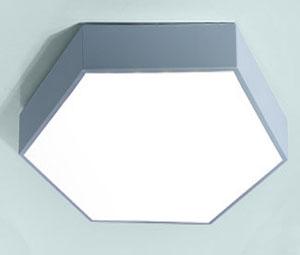 Guangdong udhëhequr fabrikë,Dritat e ulëta LED,Gjashtëkëndëshi 18W e udhëhequr nga tavani 7, blue, KARNAR INTERNATIONAL GROUP LTD