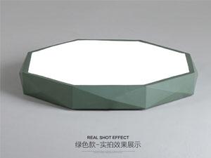 Guangdong udhëhequr fabrikë,Ngjyra me makarona,36W gjashtëkëndësh udhëhequr dritë tavan 4, green, KARNAR INTERNATIONAL GROUP LTD