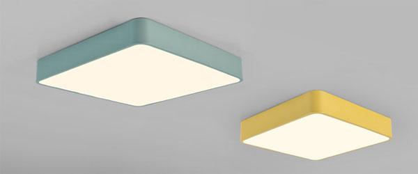 Guangdong udhëhequr fabrikë,Ngjyra me makarona,24W Sheshi udhëhequr nga dritë tavan 1, style-2, KARNAR INTERNATIONAL GROUP LTD