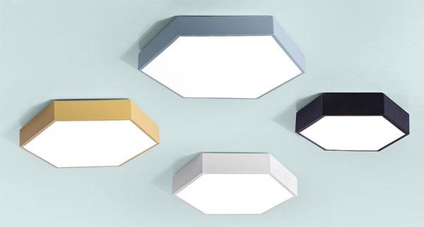Guangdong udhëhequr fabrikë,Dritat e ulëta LED,Gjashtëkëndëshi 18W e udhëhequr nga tavani 1, style-5, KARNAR INTERNATIONAL GROUP LTD