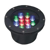 قوانغدونغ بقيادة المصنع,ضوء تحت الأرض LED,3W أضواء دائرية دفن 5, 12x1W-180.60, KARNAR INTERNATIONAL GROUP LTD