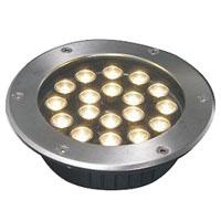 قوانغدونغ بقيادة المصنع,أضواء LED دفن,24W أضواء دائرية دفن 6, 18x1W-250.60, KARNAR INTERNATIONAL GROUP LTD