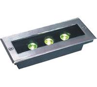 قوانغدونغ بقيادة المصنع,أضواء LED دفن,1W Square Buried Light 6, 3x1w-120.85.55, KARNAR INTERNATIONAL GROUP LTD