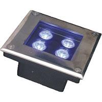 ጓንግዶንግ መሪ የሚንቀሳቀስ ፋብሪካ,LED የኮርን ብርሃን,12 ደብልዩ የተቀበሩ መብራቶች 1, 3x1w-150.150.60, ካራንተር ዓለም አቀፍ ኃ.የተ.የግ.ማ.