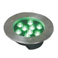 قوانغدونغ بقيادة المصنع,الصمام دفن ضوء,1W أضواء دائرية دفن 4, 9x1W-160.60, KARNAR INTERNATIONAL GROUP LTD