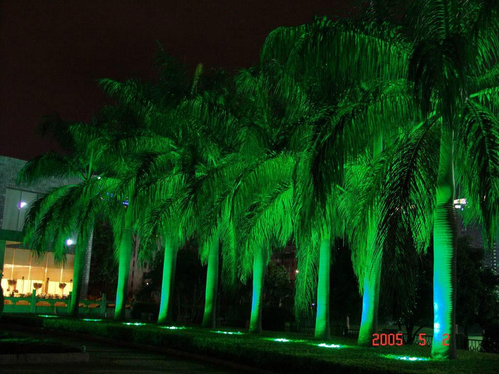 قوانغدونغ بقيادة المصنع,ضوء تحت الأرض LED,3W أضواء دائرية دفن 8, Show2, KARNAR INTERNATIONAL GROUP LTD
